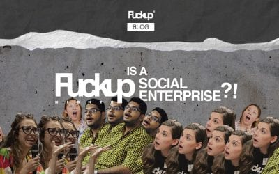 Why Fuckup Nights became a social enterprise