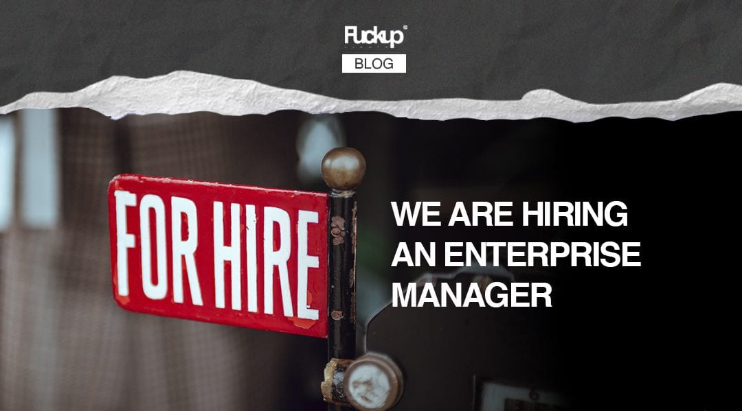 We are hiring an enterprise manager